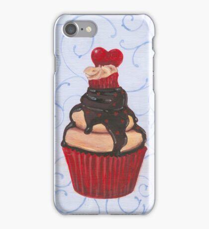 Valentine's Day Cupcake iPhone Case/Skin