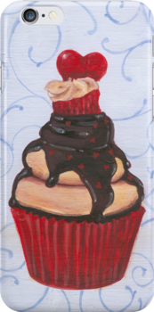 Valentine's Day Cupcake by sivieriart