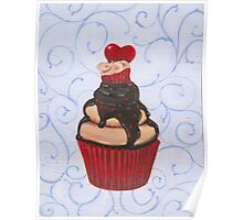 Valentine's Day Cupcake Poster