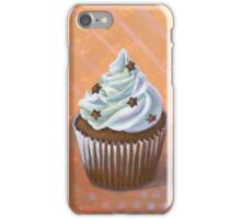 Chocolate Stars Cupcake iPhone Case/Skin