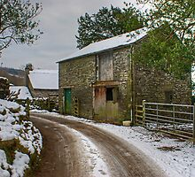 A Barn Near Monk Coniston by VoluntaryRanger