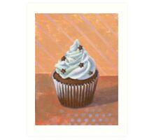 Chocolate Stars Cupcake Art Print