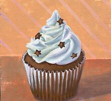 Chocolate Stars Cupcake by sivieriart