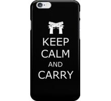 Keep Calm and Carry iPhone Case/Skin