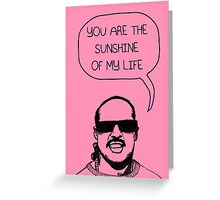 Stevie Wonderful 'Sunshine' Card Greeting Card