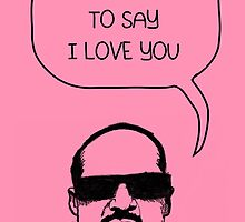 Stevie Wonderful 'Love You' Card by Socialfabrik