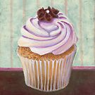 Champagne Chic Cupcake by sivieriart
