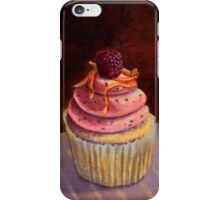 Purple Raspberry Cupcake iPhone Case/Skin