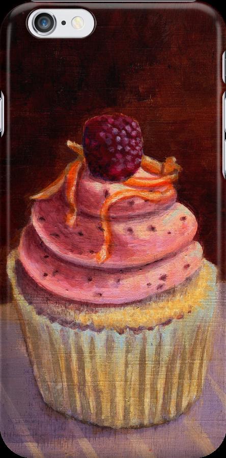 Purple Raspberry Cupcake by sivieriart