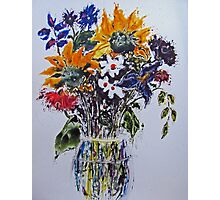 Bouquet of Sunshine Photographic Print