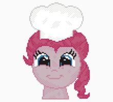 Pinkie Pie With Chef's Hat Pixelated by Steelkenny
