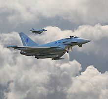 RAF Typhoons by Pat Speirs