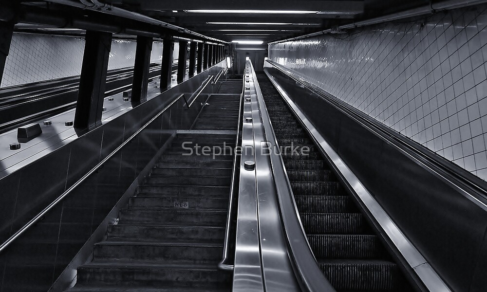 Stairs or Escalator? by Stephen Burke