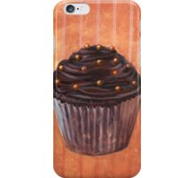 Chocolate Monster Cupcake iPhone Case/Skin