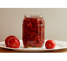canned tomatoes Photographic Print