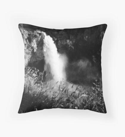 snoqualmie falls~ Throw Pillow
