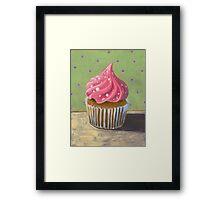 Russian Pink Cupcake Framed Print