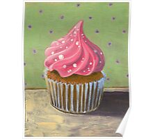 Russian Pink Cupcake Poster