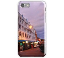evening, brisbane street (launceston) iPhone Case/Skin