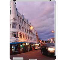 evening, brisbane street (launceston) iPad Case/Skin