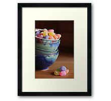 Little Candy Dishes Framed Print