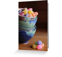 Little Candy Dishes Greeting Card