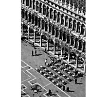 San Marco Piazza Cafe Photographic Print