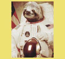 Astronaut Sloth Kids Clothes
