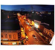 evening, elizabeth street (hobart) Poster