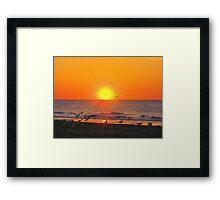 Sunburst Framed Print