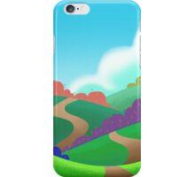 Colorful Field. iPhone Case/Skin