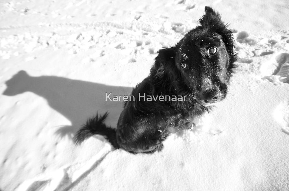 Me and my shadow by Karen Havenaar