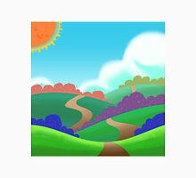 Colorful Field. Unisex T-Shirt