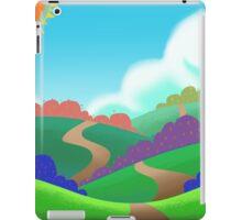 Colorful Field. iPad Case/Skin