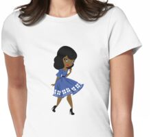 Bride's Companion B Womens Fitted T-Shirt