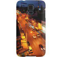 evening, elizabeth street (hobart) Samsung Galaxy Case/Skin