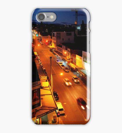 evening, elizabeth street (hobart) iPhone Case/Skin