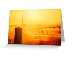 Hot in the City Greeting Card