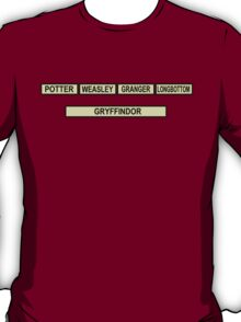 University Challenge: Gryffindor Edition T-Shirt