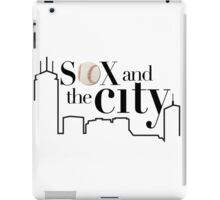 Sox and the City iPad Case/Skin