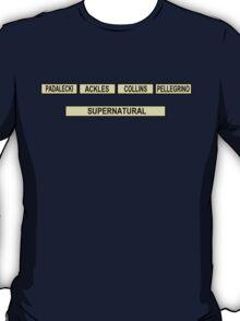 University Challenge: Supernatural Edition T-Shirt
