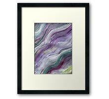 RAINBOW BLIZZARD Framed Print