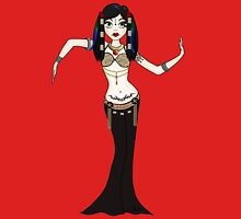 Gothic Tribal Fusion Bellydancer Womens Fitted T-Shirt