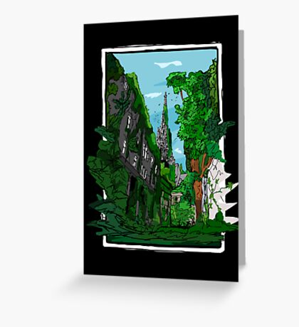 Jungle of Vienna Greeting Card