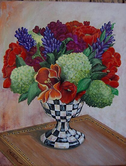 Bouquet of Flowers by Clayt Stahlka