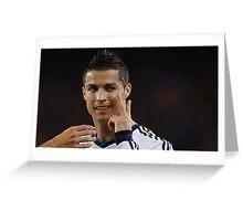 Cristiano ronaldo 3 Greeting Card