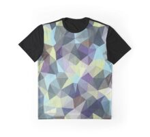 Abstract Geometric Polygon Woods Graphic T-Shirt