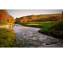 """"""" Flowing In Autumn's Colours """" Photographic Print"""