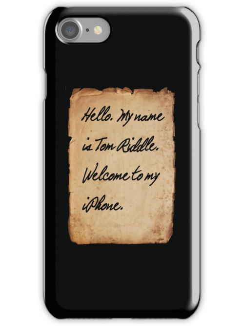 Harry Potter Iphone Case by Abbie Macmillan