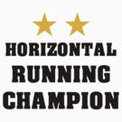 Horizontal running champion by daanielasm